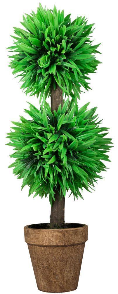 stor kunstig plante