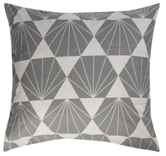 Putetrekk - 100% bomull - Diamond grey - 60x63 cm