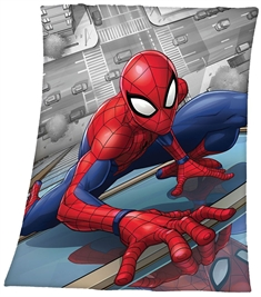 Fleece teppe - Spiderman - 120x140 cm