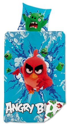 Angry Birds -  100% bomull - 140x200 cm