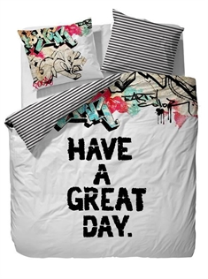 sengetøy Covers & Co - 150x210 cm - 100% bomulls renforcé - Covers & Co Great day